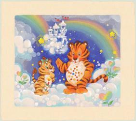 Stellar Heart Tiger and Hopeful Heart Liger by ThisCrispyKat