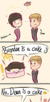 He's a cake by Cuineth