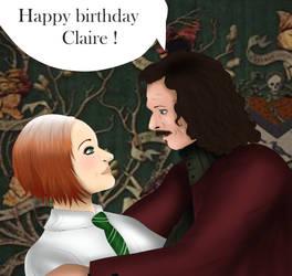 [HP] Happy Birthday Claire ! by MilenaWenham