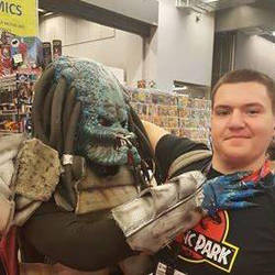 My friend Pietro and me as Predator by Norbert2009