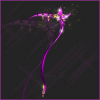 OPEN Flower Scythe adopt weapon auction by Liowa