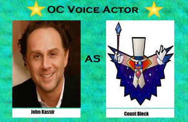 John Kassir as Count Bleck by menslady125
