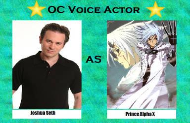 Joshua Seth as Alpha by menslady125