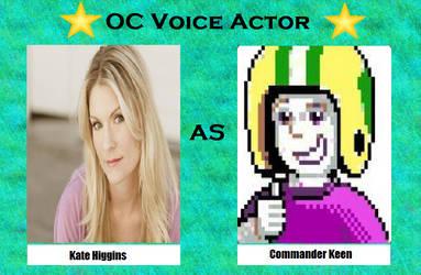 Kate Higgins as Commander Keen by menslady125