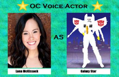 Lana McKissack as Galaxy Star by menslady125