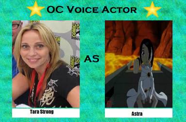 Tara Strong as Astra by menslady125