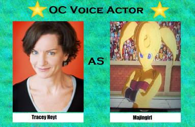 Tracey Hoyt as Majingirl by menslady125
