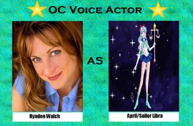 Hynden Walch as Sailor Libra by menslady125