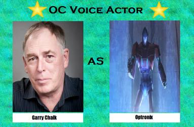 Garry Chalk as Optronix by menslady125