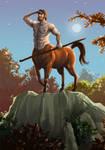 Centaur by Alda-Rana