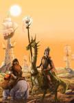 Dragon Quijote by Alda-Rana