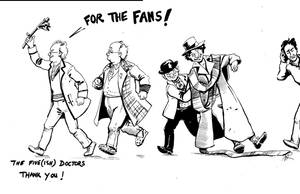 The Five(ish) Doctors by Alda-Rana