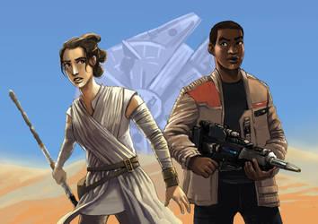 The Force Awakens by Alda-Rana