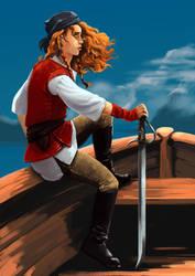 Llyn the pirate by Alda-Rana