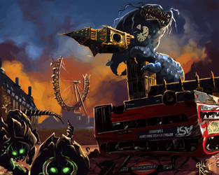 AST header image - Ready for the Apocalypse by Alda-Rana