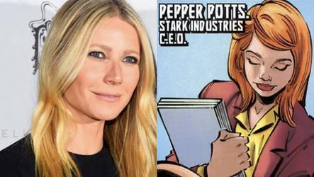 Gwyneth Paltrow as Pepper Potts by dyemery