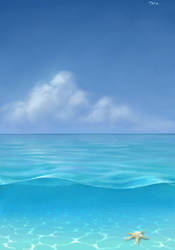 light blue by satiiiva