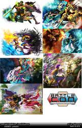 BattleCon Batch 06 by Nokomento