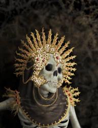 Jeweled Saint Photo Study by LaChasseresse