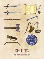 DSA: RPG items by miss-hena