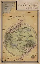 Map of Tarsynium by miss-hena