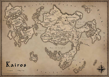 Map of Kairos by miss-hena