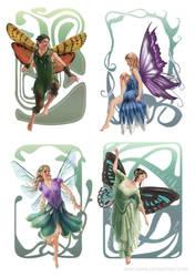 DSA: Fairies by miss-hena