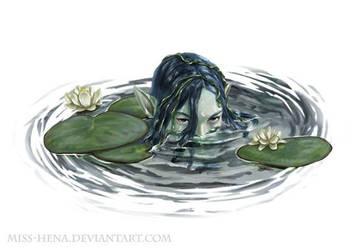 DSA: Water Nymph by miss-hena