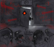 Halloween poster-4: THE RUSSIAN SLEEP EXPERIMENT by Taliesaurus