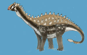 JURASSIC MONTH- Ankylodocus (Walking Fortress) by Taliesaurus