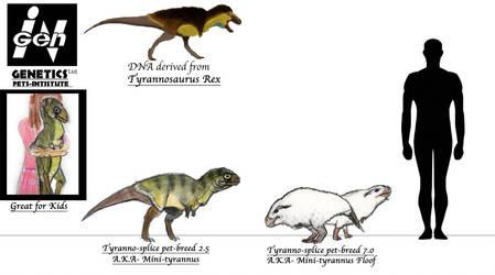 JURASSIC MONTH- Mini-tyrannus (pet) by Taliesaurus