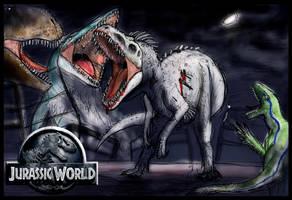 JOURNEY TO FALLEN KINGDOM 4: JURASSIC WORLD by Taliesaurus