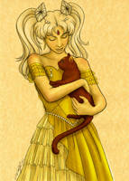 Sketch: Princess Arabeth by Angel-Creations