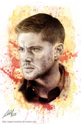 Blood Brother: Dean Winchester by Angel-Creations