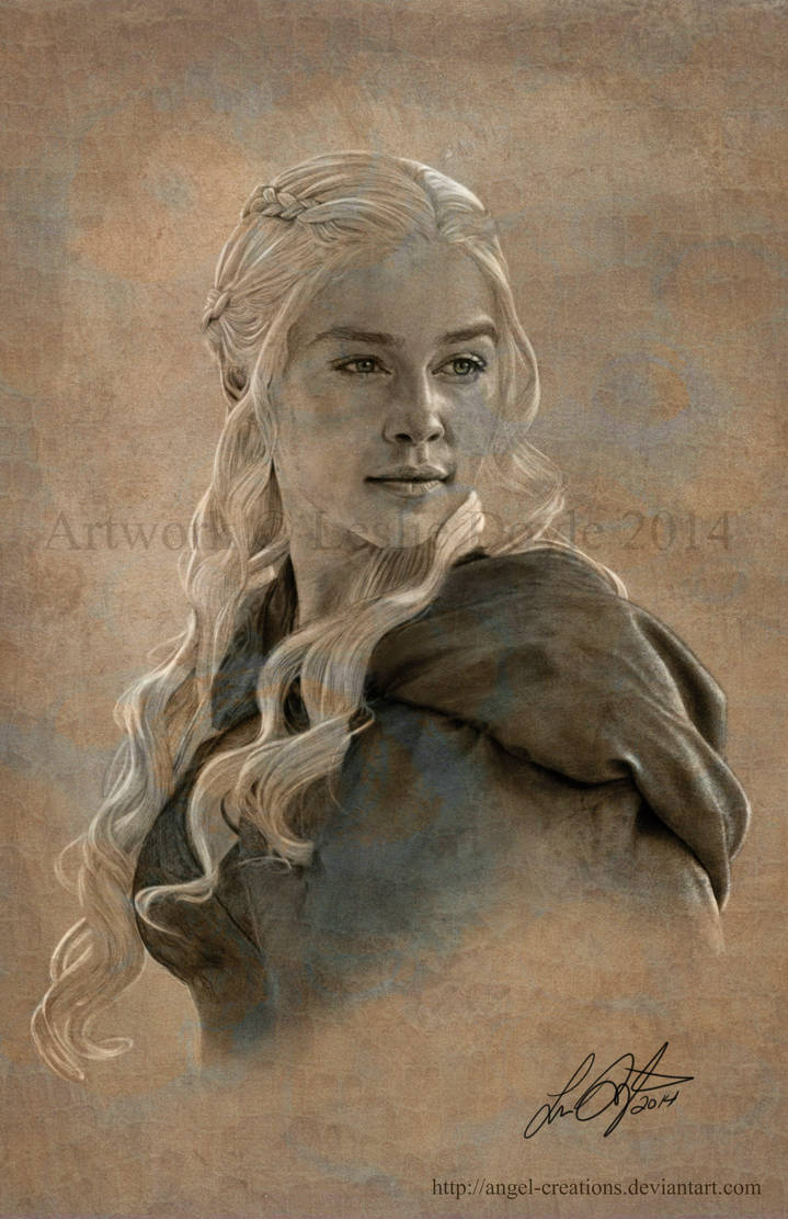 Khaleesi: Daenerys Targaryen by Angel-Creations