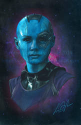 Guardians of the Galaxy: Nebula by Angel-Creations