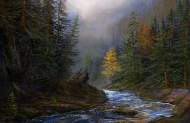 mysthic alaska beauty by andrekosslick