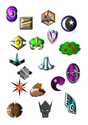 custom gym badges by Moth258