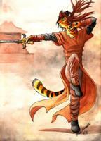 The Sworddancer by RaikaDeLaNoche