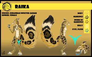 Raika character sheet by RaikaDeLaNoche
