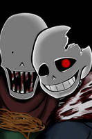Spooky Scary SkeleBros by SynTheSaizer