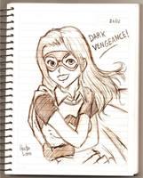 Sketch 1: Misfit by bluekensou