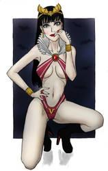 Vampirella by bluekensou
