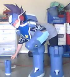 Megaman Full Body Shot 2 by NatsumeRyu