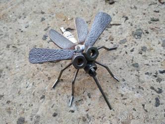 heavy metal mosquito by Draupnir-666