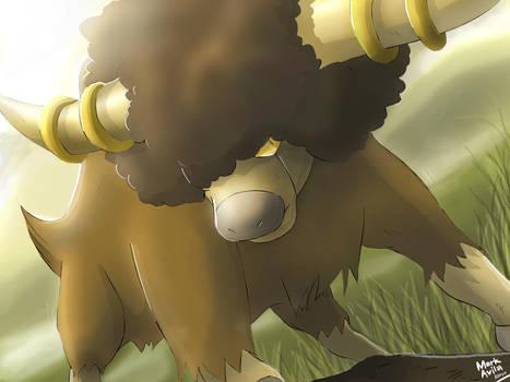 Pokemon: Bouffalant by mark331