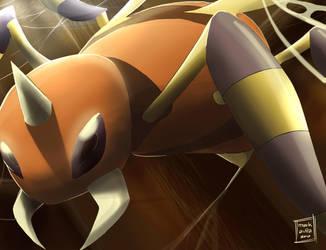 Pokemon: Ariados by mark331