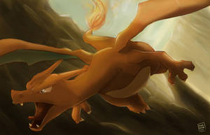 Pokemon: Charizard by mark331