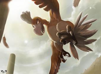 Pokemon: Shiny Ho-oh by mark331