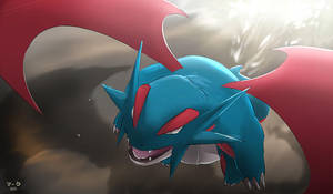 Pokemon: Salamence by mark331